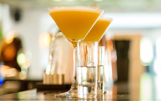 Cocktails at Ego Mediterranean