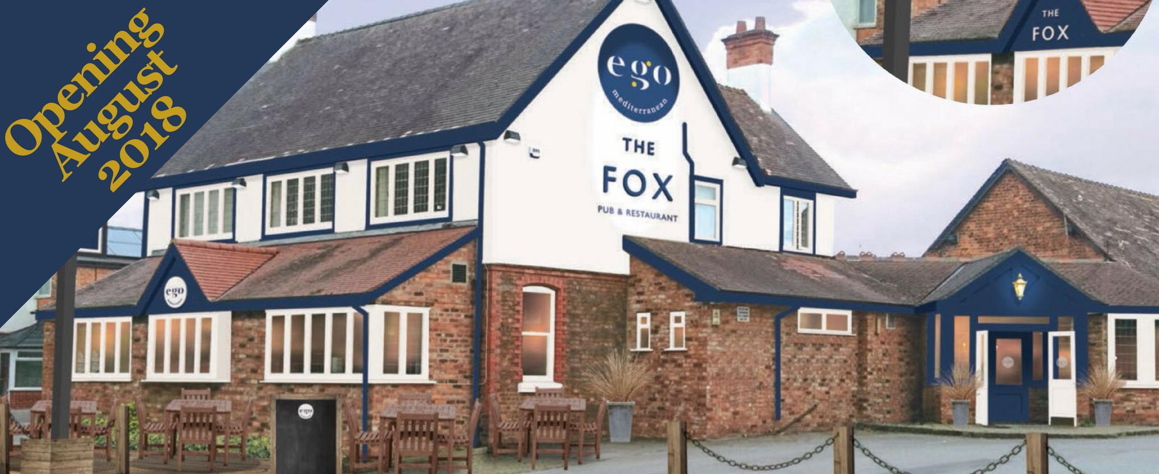 Ego at The Fox Haslington Web Banner